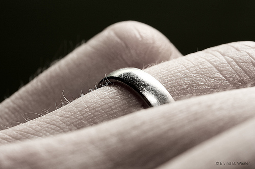 The meaning of the wedding ring Bridges and Tangents