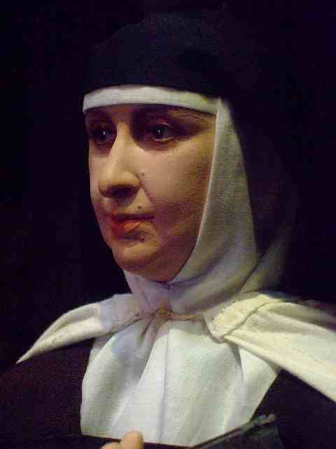 Historical Portrait Figure of St Teresa of Avila by artist-historian George Stuart (1)  by mharrsch
