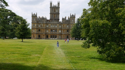 Highclere Castle - Downton Abbey by griffinstar7