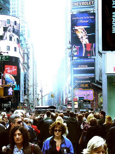 times square by joshua davis photography