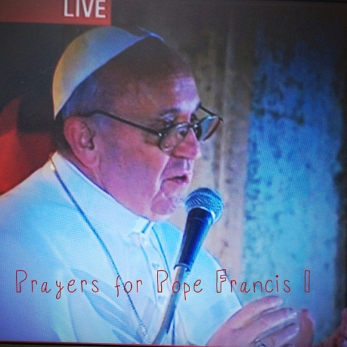 Pope Francis I #prayers #pontiff #pope #conclave #catholic #celebrate by mnholcomb