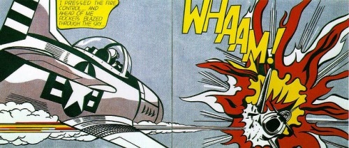 whaam - roy litchenstein 1963 by oddstock